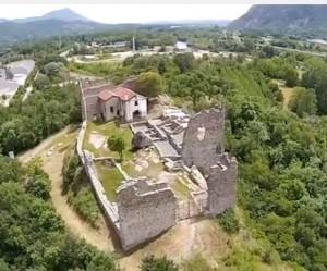 Anno 2014 - Il Castrum Capriarum dopo i lavori di scavo all'interno delle mura