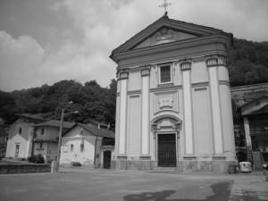 Villa di Mocchie - Anno 2010 - La Chiesa parrocchiale