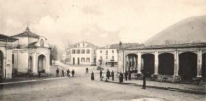 Condove - anno 1905 - la piazza