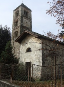 Condove - anno 2013 - antica chiesa del camposanto
