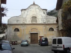 Condove - anno 2013 - Vecchia Chiesa Parrocchiale