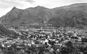 Condove - anno 1954 - Panorama