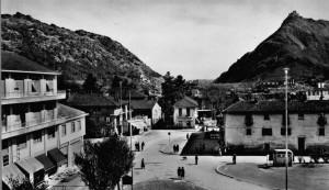 Condove - anno 1959 - La piazza