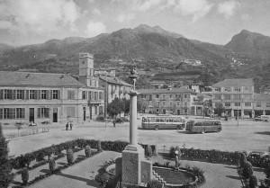 Condove - anno 1962 - La piazza