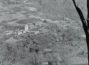 Villa di Mocchie - Fine anni 20 del secolo scorso - Panorama (non è ancora costruita la strada carrozzabile)