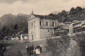 Villa di Mocchie - Anno 1902 - La Chiesa parrocchiale