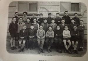 Condove - Anno scolastico 1946/47 - classe V maschile