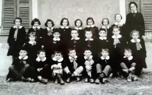 Scuola elementare di Caprie - Anno scolastico 1957/58 - classe III