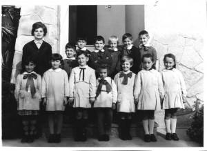 Scuola elementare di Caprie - Anno scolastico 1968/69 - lasse I