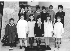 Scuola elementare di Caprie - Anno scolastico 1970/71 - Classe III