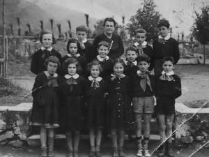 Scuola elementare di Caprie - Anno scolastico 55/56 - classe II