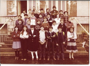 Scuola media di Condove - Anno scolastico 1978/79 - classe III