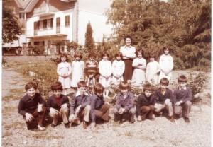 Scuola elementare di Condove - Anno scolastico 1976/77 - classe I