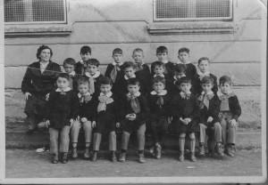 Scuola elementare di Condove - Anno scolastico 1957/58 - lasse I