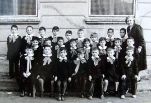Scuola elementare di Condove - Anno scolastico 1957/58 - Classe II