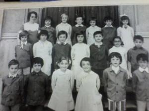 Scuola elementare di Condove - Anno scolastico 1973/74 - Classe II