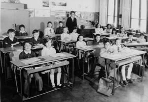 Scuola elementare di Condove - Anno scolastico 1974/75 - classe IVa