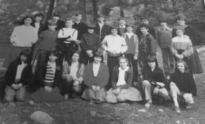Scuola elementare di Condove - anno scolastico 1983/84 - classe V