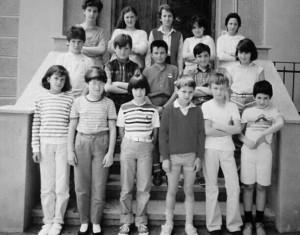 Scuola elementare di Condove - Anno scolastico 1984/85 - Classe Va