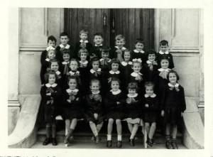Scuola elementare di Condove - Anno scolastico 1955/56 - classe II