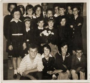 Scuola media di Condove - Anno scolastico 1962/63 - Classe III
