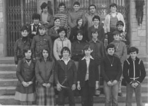 Scuola media Condove - anno scolastico 1977/78 - classe IIIA