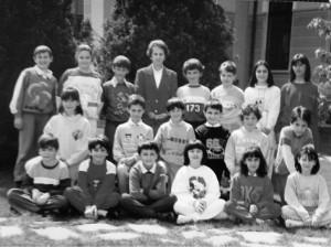 Scuola elementare Condove - Anno scolastico 1986/87 - classe IV A