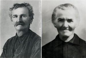 Coniugi Franchino Francesco e Pautasso Agostina