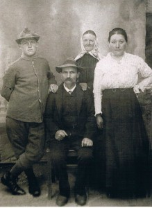Famiglia Alopite Carlo e Chiampo Angela