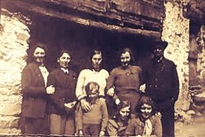 Parte famiglia di Cordola Giuseppe mugnaio del Laietto