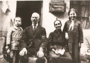 Anno 1928 - Famiglia Ravetto di Bruzolo