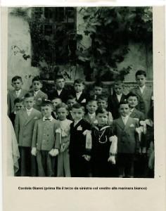 Condove 1954 Prime comunioni