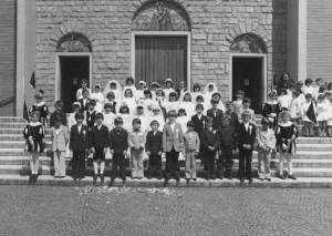 Condove - maggio 1978 - Prime comunioni