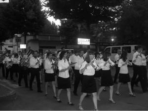 Banda musicale di Condove nel 2009