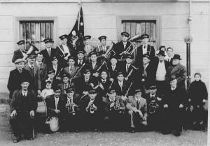 La Società Filarmonica di Caprie nel 1947