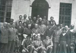 1951 - Condove visita pastorale Vescovo