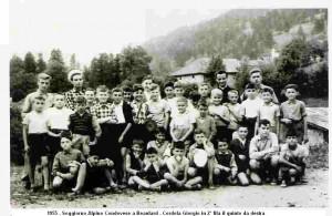 1955 - Soggiorno a Beaulard