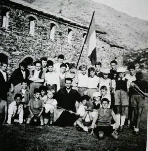 1947 - Collombardo campeggio ragazzi