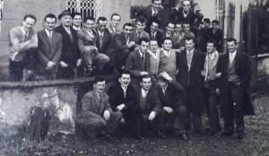 1952 - Condove raduno alla Trattoria dei Fiori