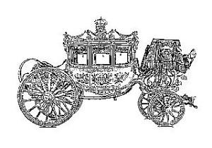 La carrozza reale nel 1817
