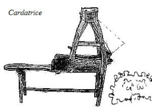Cardatrice per lana