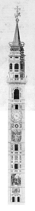 Torre civica costruita nel 1379 e demolita nel 1801
