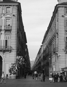 Via Garibaldi pedonale