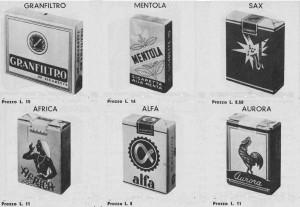 sigarette anni50